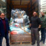 Αποστολή βοήθειας στους πλημμυροπαθείς της Μάνδρας Αττικής