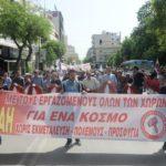 Απεργία 1ης ΜΑΗ Μαζική απάντηση του Λαού της Λάρισας: Ενάντια στους ιμπεριαλιστικούς πολέμους και την εκμετάλλευση