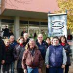 Παράσταση διαμαρτυρίας στον ΟΑΕΔ Λάρισας από το ΕΚΛ και απολυμένους δασεργάτες