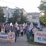 Μαχητική κινητοποίηση ενάντια στη μετατροπή της Θεσσαλίας σε ιμπεριαλιστικό ορμητήριο