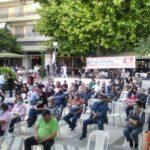 Μαζική συμμετοχή συνδικαλιστών από δεκάδες σωματεία στη χθεσινή σύσκεψη